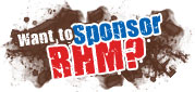 Want to Sponsor RHM?